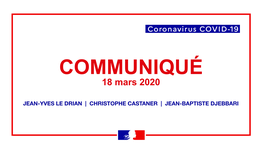 Statement by the ministers Jean-Yves Le Drian, Christophe Castaner and (...)