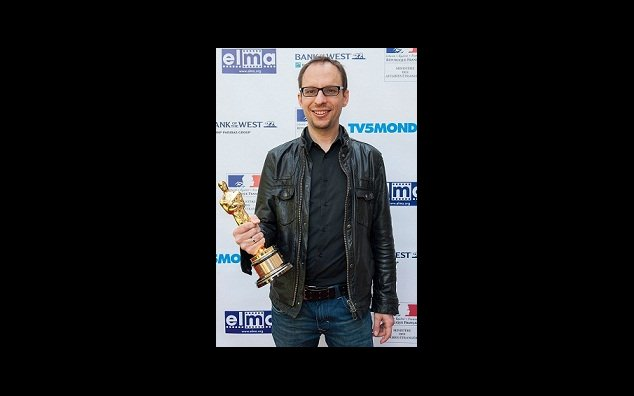 "Laurent Witz et son Oscar pour ""Mr Hublot"""