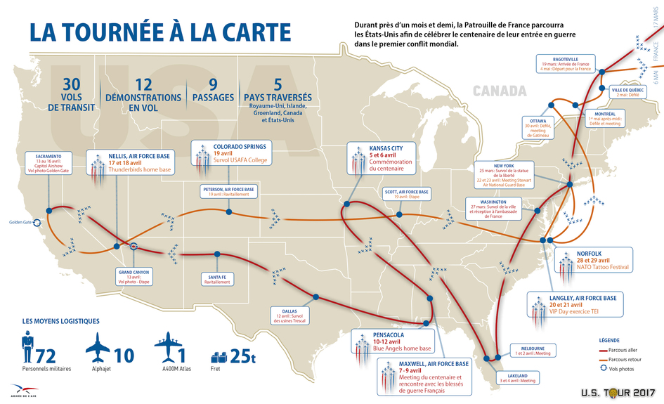 Worksheet. French Air Force Patrouille USA Tour 2017  Consulat Gnral de